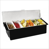 Condiment Holder with 6 & 4 compartment