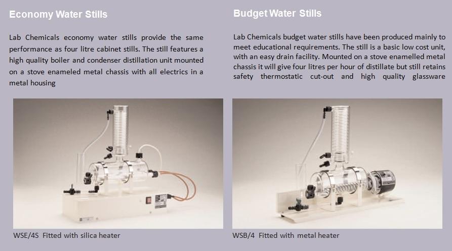 Cabinet and Aquatic Water Stills