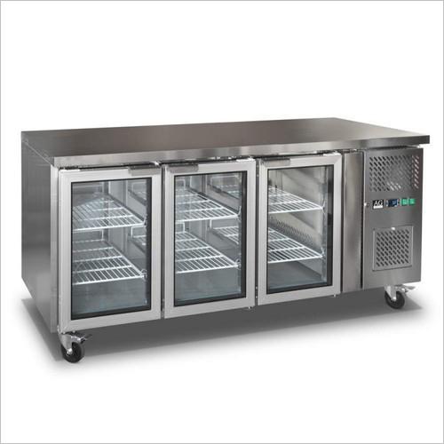 SS Backbar Refrigerator