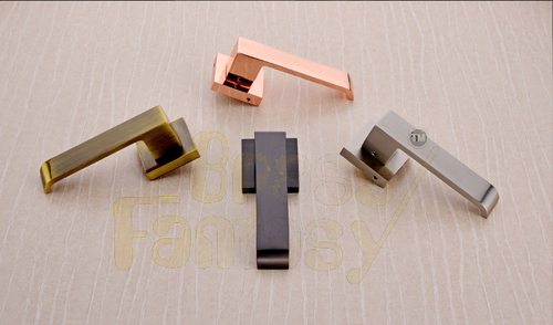 Brass Mortise Handle - NOBLE