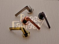 Brass Mortise Handle - Corvette