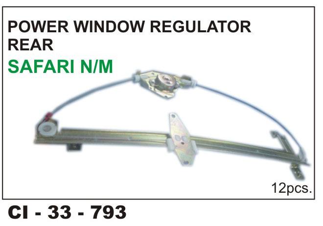 power window regulator REAR SAFARI n/m