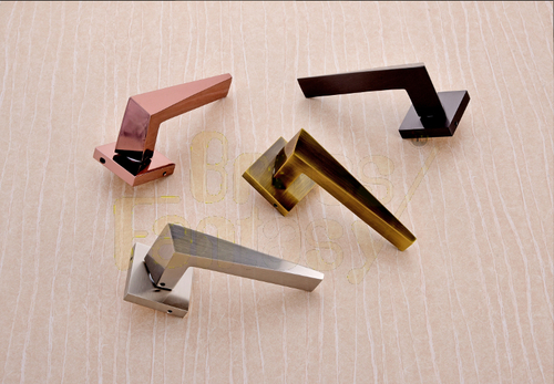 Brass Mortise handle - TITAN