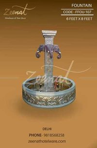 FIBER WATER FOUNTAIN