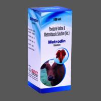 Povidone Iodine & Metronidazole Solution (Vet)