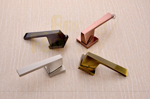 Brass Mortise handle - MUSTANG