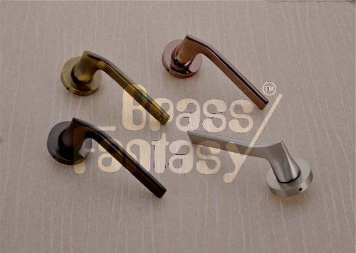 Brass Mortise Handle - AZURE