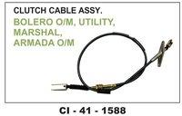 Clutch Cable Assy Boler O/M, Utility, Marshal, Armada O/M