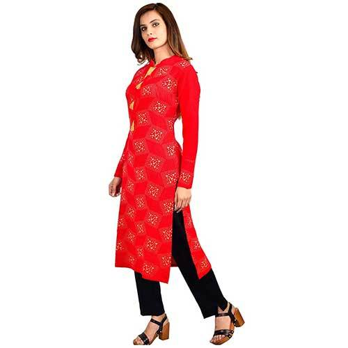 Ladies Full Sleeves Woolen Kurti