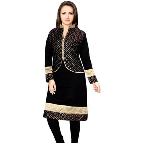 Ladies Kurti With Jacket