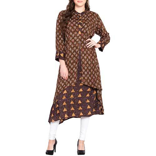 Ladies Short Layered Kurti