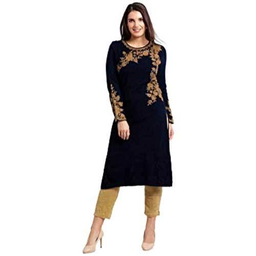 Ladies Black Designer Kurti