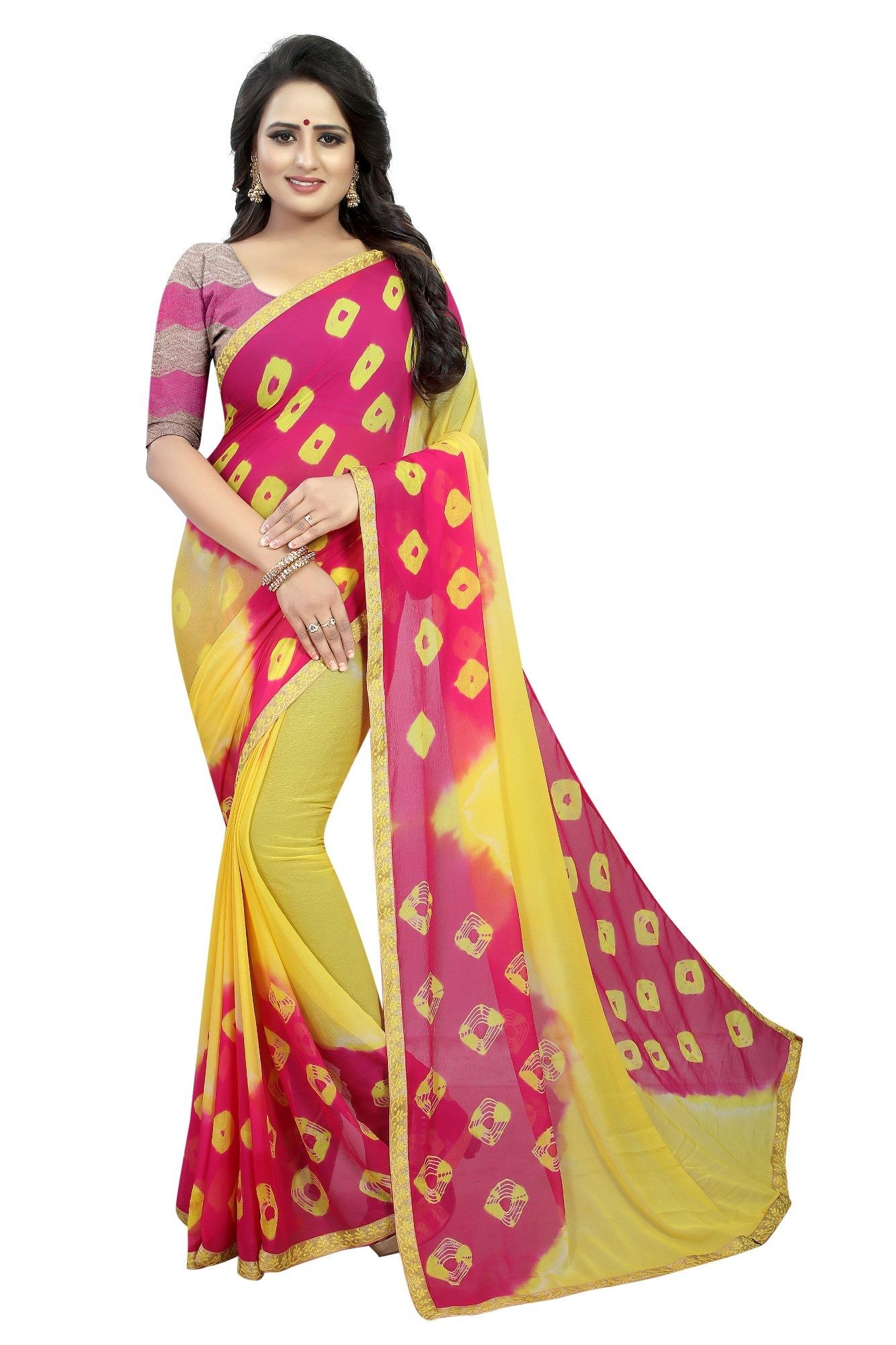 Fancy chiffon sarees
