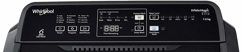 Whirlpool 7 Kg Semi-Automatic Top Loading Washing Machine Superb Atom 70S