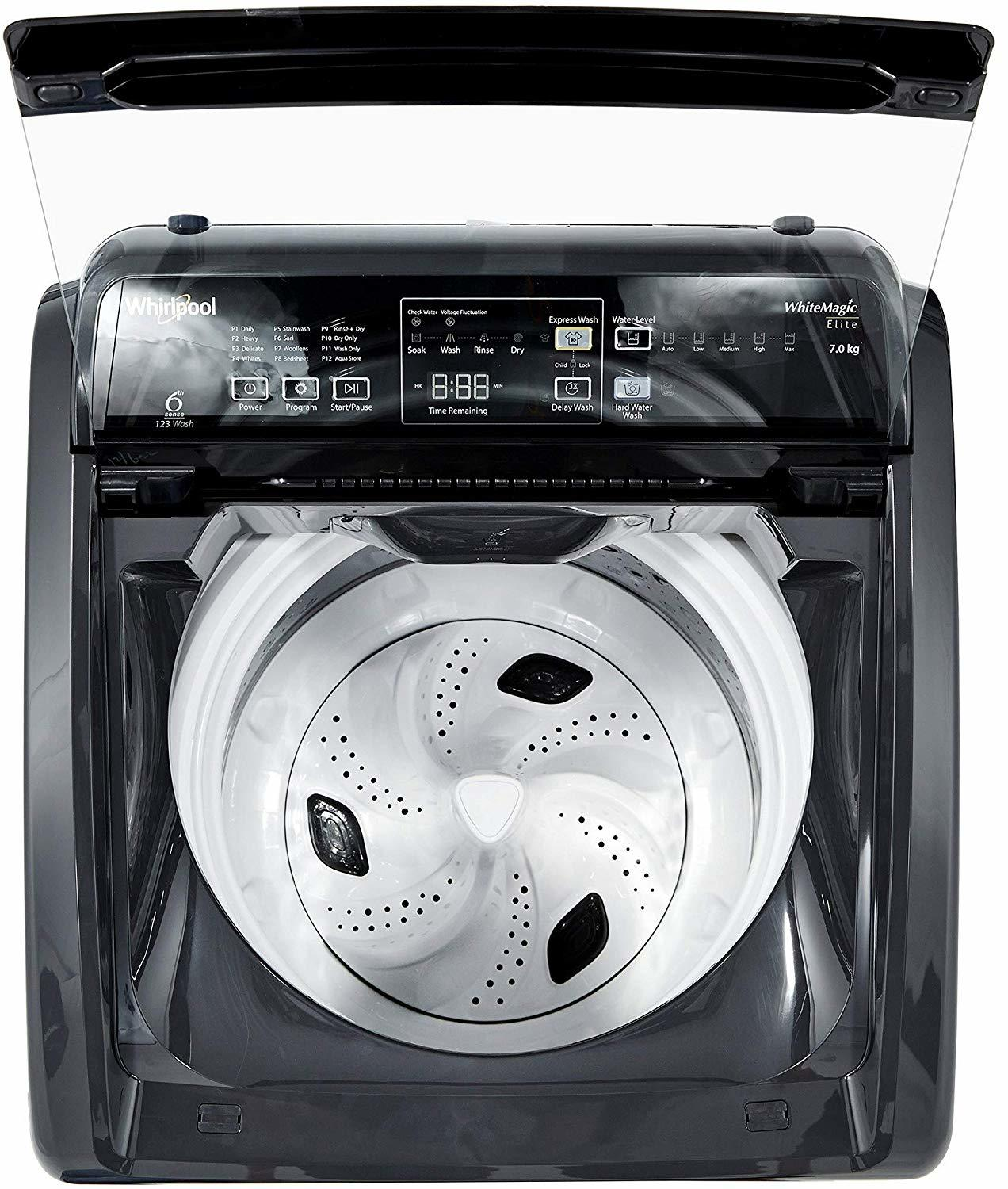 Whirlpool 7 Kg Semi-Automatic Top Loading Washing Machine Superb Atom 70S