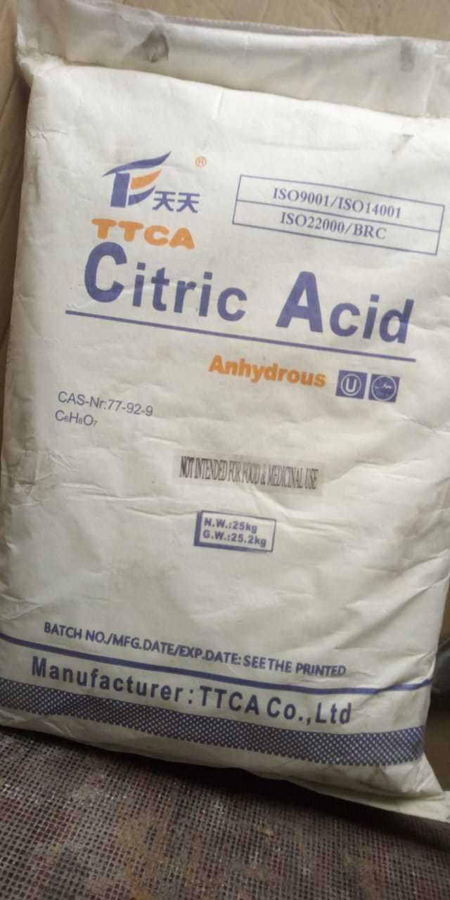 Anhydrous Citric Acid Powder