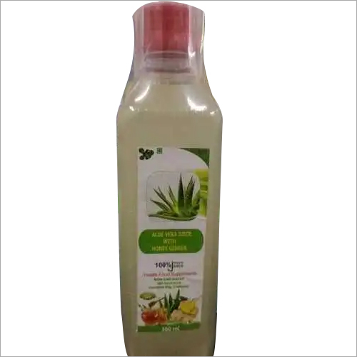 Aloevera juice with honey ginger