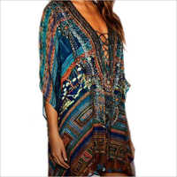 Digital Print Fancy Kaftan
