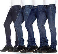 Mens Polo Fit Denim Jeans