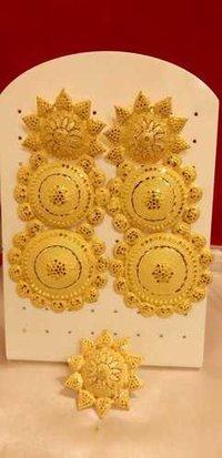 Imitation yellow Earrings