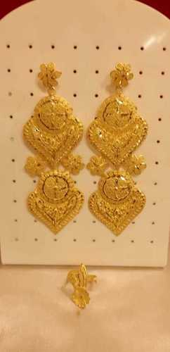 Imitation Gold Earrings (yellow)