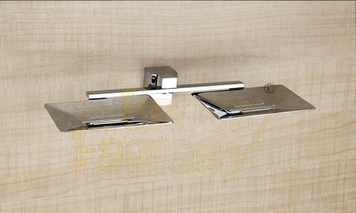 Brass Double Soap Dish Sheet