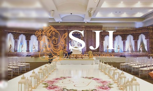 Mughal Theme Wedding Stage