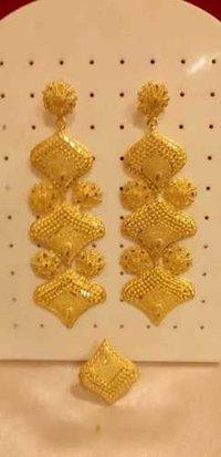 Copper earrings (Multicolor)