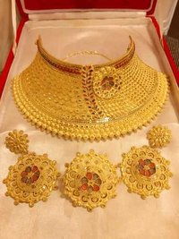 Imitation Gold Jewelry Yellow