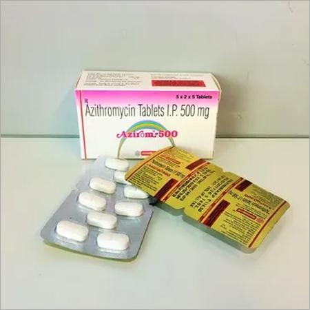 Azithromycin- 500mg  tab