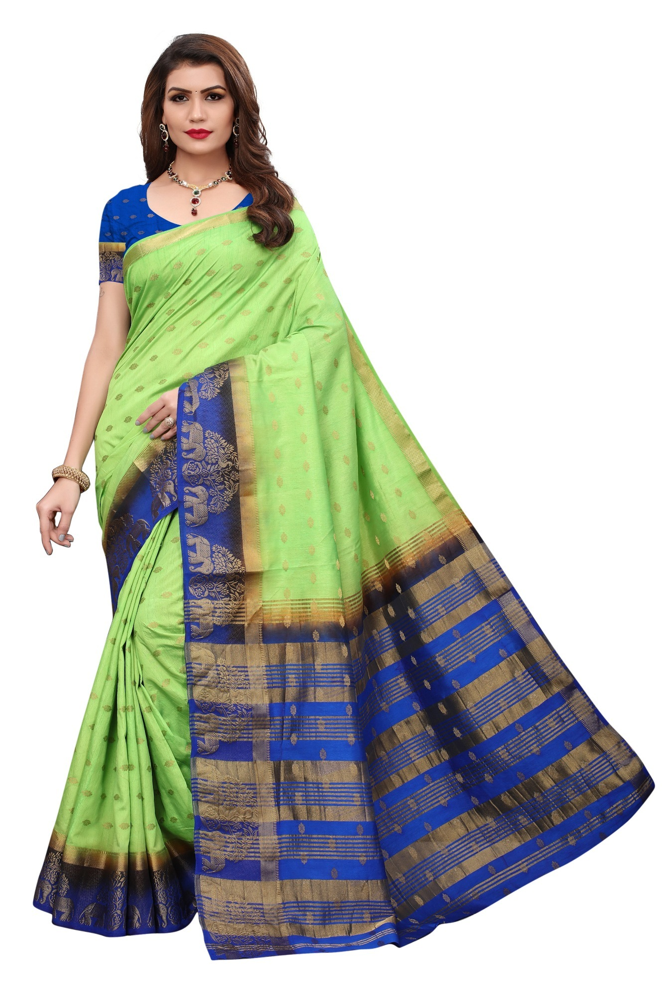 New Kanjivaram Fancy Saree