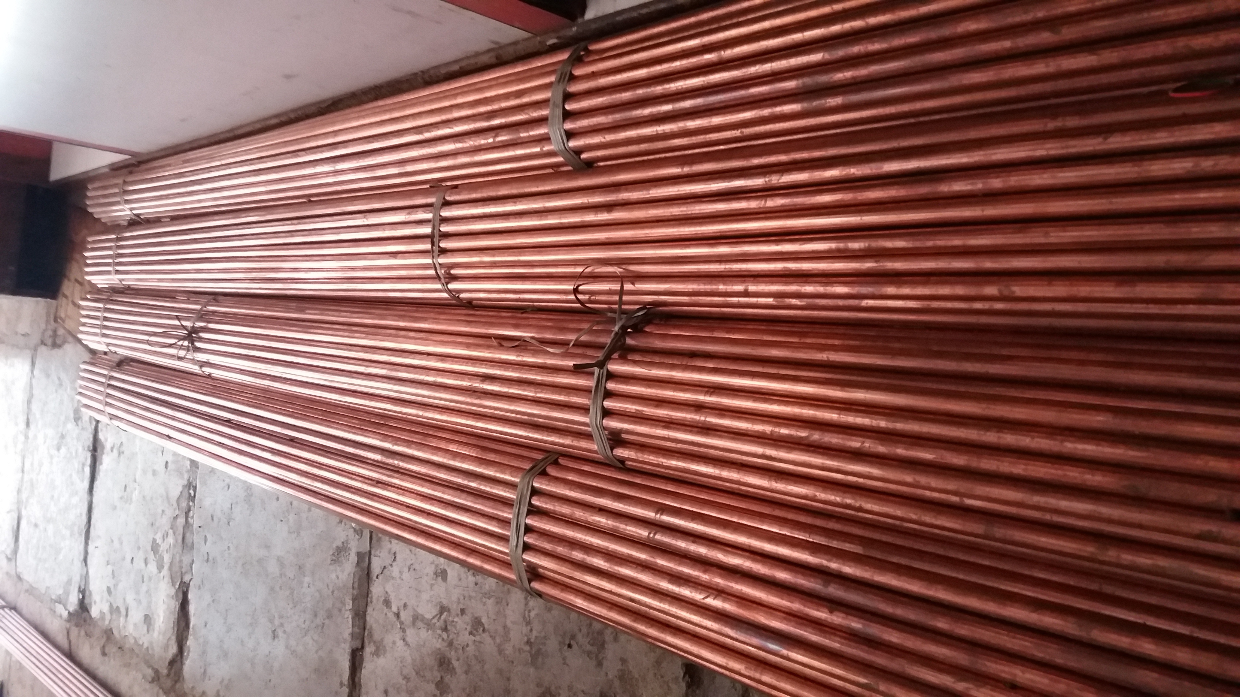 COPPER PIPE AND TUBES