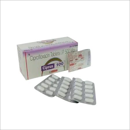 Ciprofloxacin-500mg Tab.
