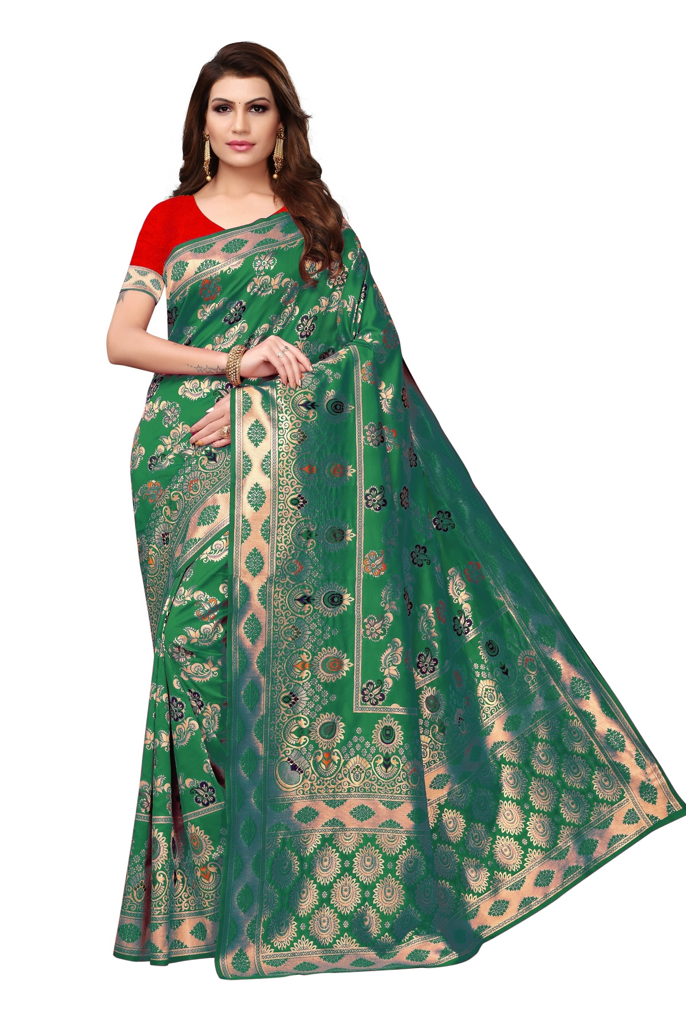 Banarasi silk saree