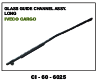 Glass Guide Channel Assy Long Iveco Cargo