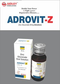 Zinc Gluconate. Eq.to elemental Zinc 20mg./5ml Syrup