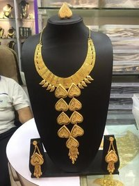African yellow  jewellery