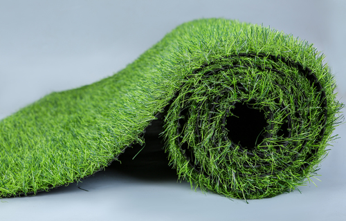 Different quality artificial grass