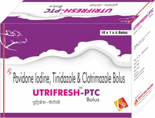 Povidone Iodine Tinidazole Clotrimazole Bolus