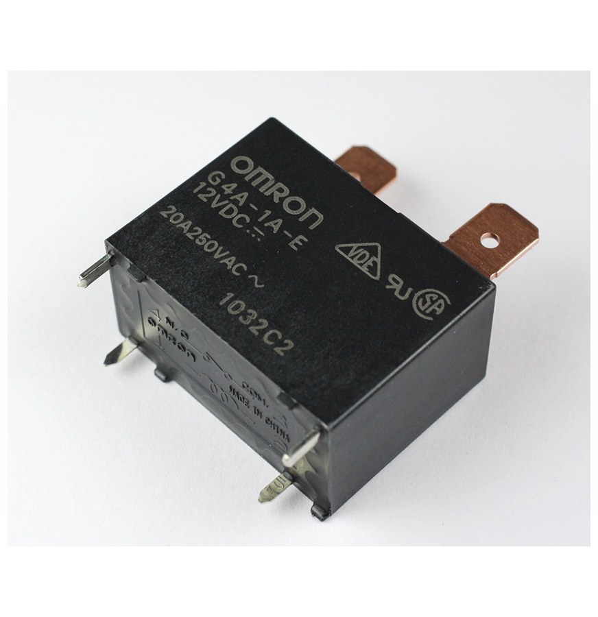 G4A 20amp General Purpose Relay SPST-NO (1 Form A) , 12VDC
