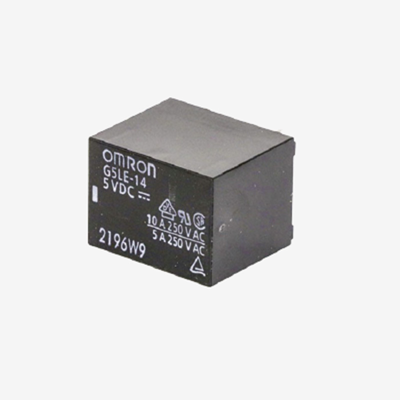 Omron Sugar cube 10 Amp 5Vdc SPST Power Relays