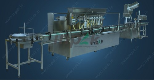Fully Automatic Liquid Filling Machine
