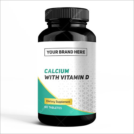 Private Label Calcium Vitamin D
