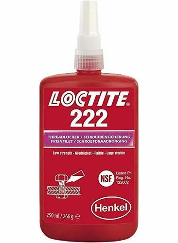 Food Grade NSF Loctite Thread Locker 222 (50ml)