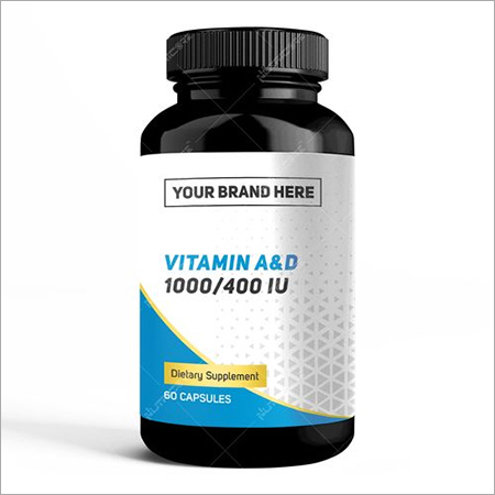 Private Label Vitamin A & D 10,000/400 IU