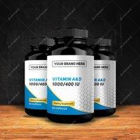 Private Label Vitamin A & D 10,000/400 IU