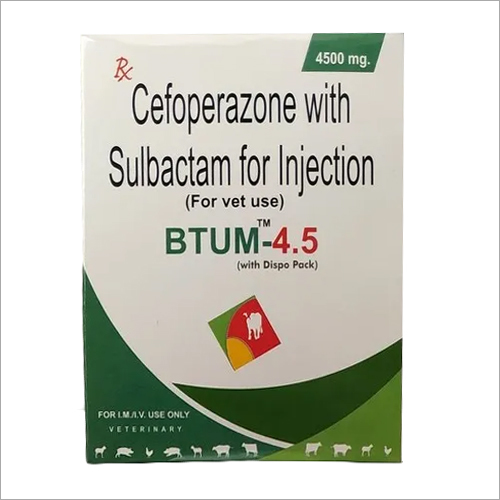 Cefoperazone Sulbactam Injection For Veterinary Use only