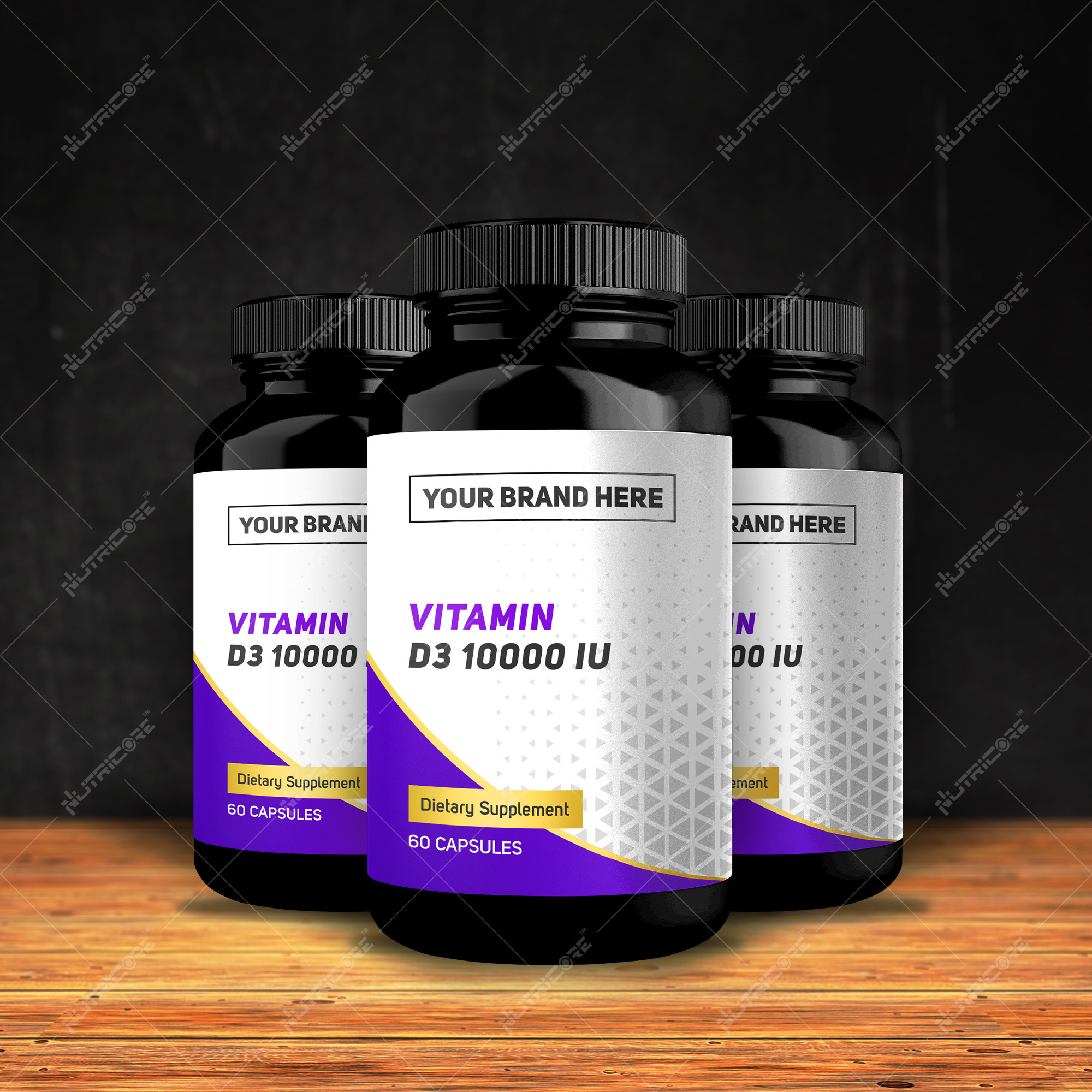 Private Label Vitamin D3 10,000 IU