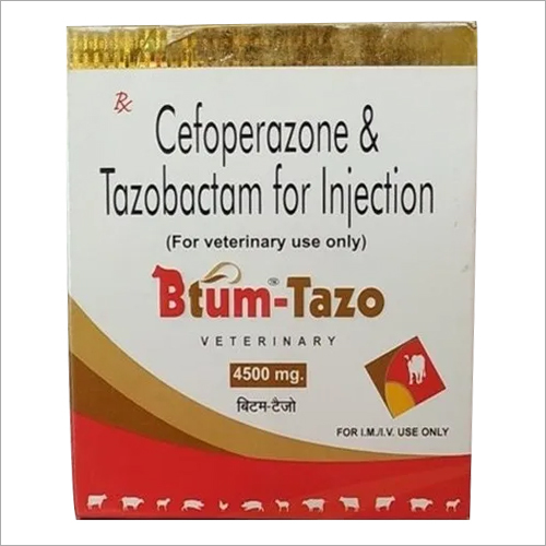 Cefoperazone Tazobactam Injection For Veterinary Use Only