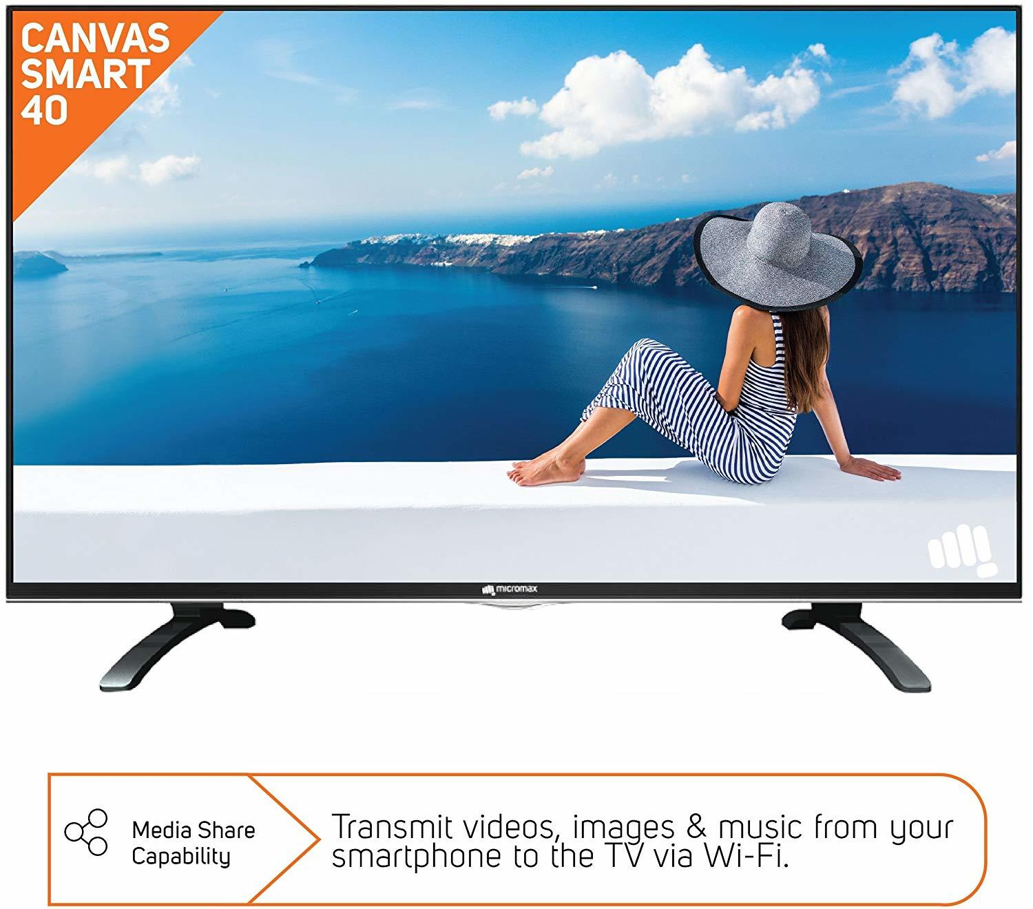 Micromax 101cm (40 Inch) Full HD LED Smart TV